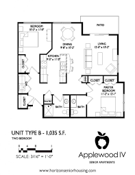hair salon floor plans applewood senior apartments iv dubuque iowa horizonseniorhousing com