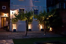 outdoor garden lights festive garden lighting pinterest