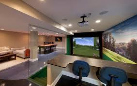 custom designed golf simulators by swingtrack