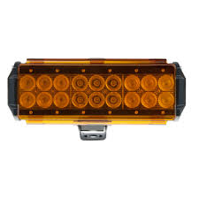 Led Light Bar Lens Cover by 8 Off Road Led Light Bar Lens Cover Amber Diffuse 2 Pack Or Cov