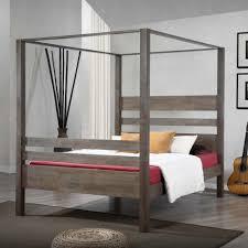 bedroom design furniture bedroom distressed wooden canopy bed