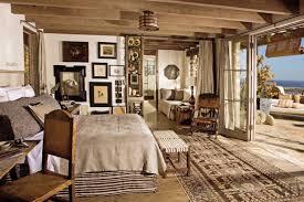 tapis de sol chambre decoration interieur cagne chic style chambre idee tapis de sol