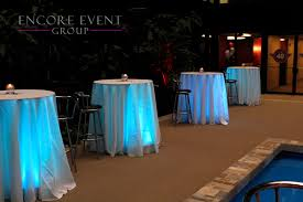 unique corporate cocktail table lighting for michiagn events