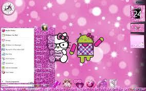wallpaper hello kitty laptop hello kitty geek nerd theme by ladypinkilicious on deviantart