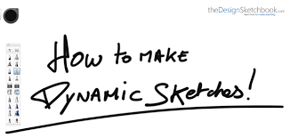 tip 134 7 steps to make dynamic sketches
