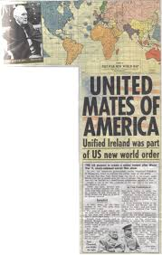 New World Map by The Post War Ii New World Order Map A Proposal To Re Arrange The