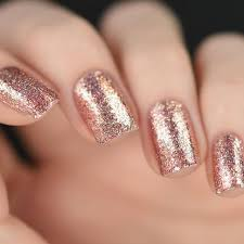 top 25 best rose gold glitter nails ideas on pinterest rose