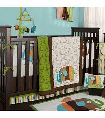 kidsline zutano elephants 4 piece crib bedding set