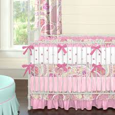 Hot Pink And Black Crib Bedding by Bedding Baby Girl Bedding Baby Girl Crib Bedding Sets Carousel