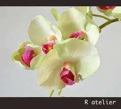 artificial orchids decorative artificial orchids floral arrangement r atelier
