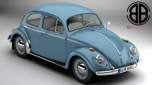volkswagen buggy 2016 volkswagen beetle 1963 1200 deluxe 3d model