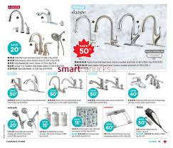 canadian tire kitchen faucets canadian tire flyer october 4 to 10