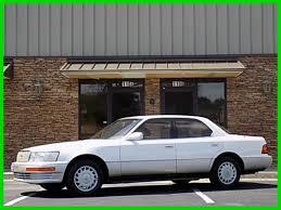 lexus ls400 1990 lexus ls sedan 1990 white for sale jt8uf11e7l0031538 1990 lexus