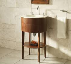 Bathroom Sink Console Table Kohler Camber Console Table In Exotic Wood