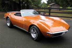 1972 corvette price 1972 chevrolet corvette convertible 154117