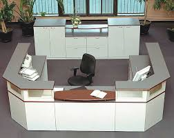 Two Person Reception Desk Two Person Custom Reception Desk