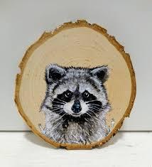 animal wood i paint animal portraits on slices of wood bored panda