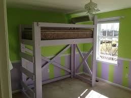 how to fix wood lofted bed frame modern loft beds