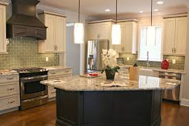 glass top kitchen island kitchen charming l shape kitchen decoration using granite