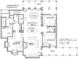 Fourplex Plans by 100 House Plans 4 Bedroom House Plan 2680 194 Country