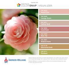 sun kissed rose petals sherwin williams rachel pink sw 0026