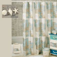 Window And Shower Curtain Sets Coastal Moonlight Shower Curtain