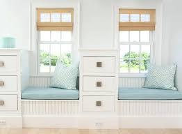 blue storage bench bench decoration