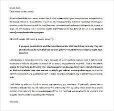 100 sle sponsorship letter template sample wedding