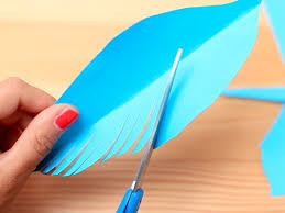 gift wrapping idea paper feathers youtube