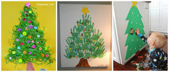 creative christmas tree crafts and activities for kids i heart