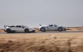 which is faster lamborghini or bugatti veyron grand sport vs lamborghini murcielago lp 670 4 sv