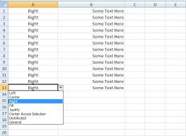 excel vba set horizontal alignment sample code vba and vb
