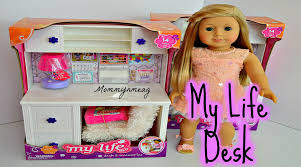 girl accessories my as desk and accessories for american girl