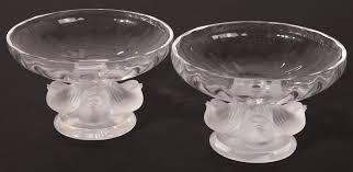 Lalique Vase With Birds Forsythes U0027 Auctions Llc Cincinnati Auctions
