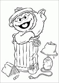 epic oscar grouch coloring pages 75 free coloring