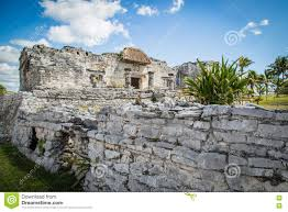 Mayan Ruins Mexico Map by Mayan Ruins Of Tulum Old City Tulum Archaeological Site Riviera