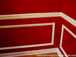 Pictures Of Wainscoting In Dining Rooms Dining Room Upgrade Add Picture Molding Beneath A Chair Rail