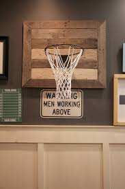 my sweet savannah thrifty thursday diy basketball hoop our