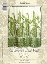Hawaiian Curtain Fabric Hawaiian Shower Curtains Shower Curtains Outlet