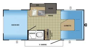 Granny Pod Plans by Attractive Jayco Camper Floor Plans Part 11 Expandable Rv Floor