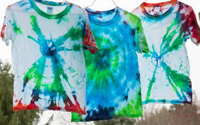 tie dye shirt birthday party favors house shutters