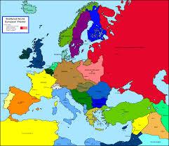 Unlv Map History 464 Europe Since 1914 Unlv Beautiful Blank Map Of 1938