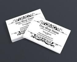 wedding planner business card design filigree business card