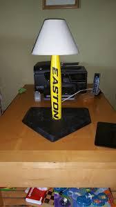 Bat Light Fixture Baseball Bat L 6 Steps