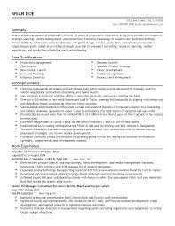 Product Development Manager Job Description 100 Resume Vendor Management Skills Retail Store Resume