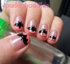 12 halloween bat nail art designs ideas trends u0026 stickers 2014
