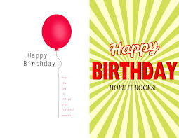 create your own birthday card template birthday card template printable