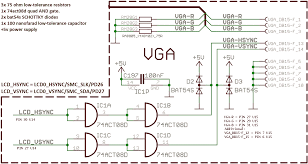 vga wiring diagram on vga download wirning diagrams