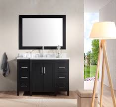 ariel hollandale 49 single sink vanity set in black ariel bath