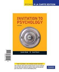 invitation to psychology 5th edition 28 images invitation to